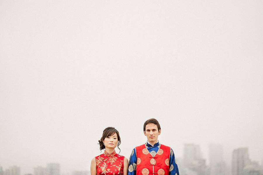 Chinese Tea Ceremony Wedding Attire