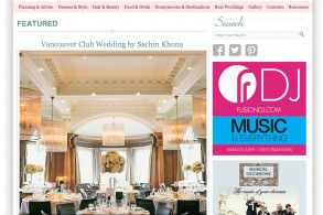 Real Weddings Canada feature Sachin Khona Vancouver Photographer