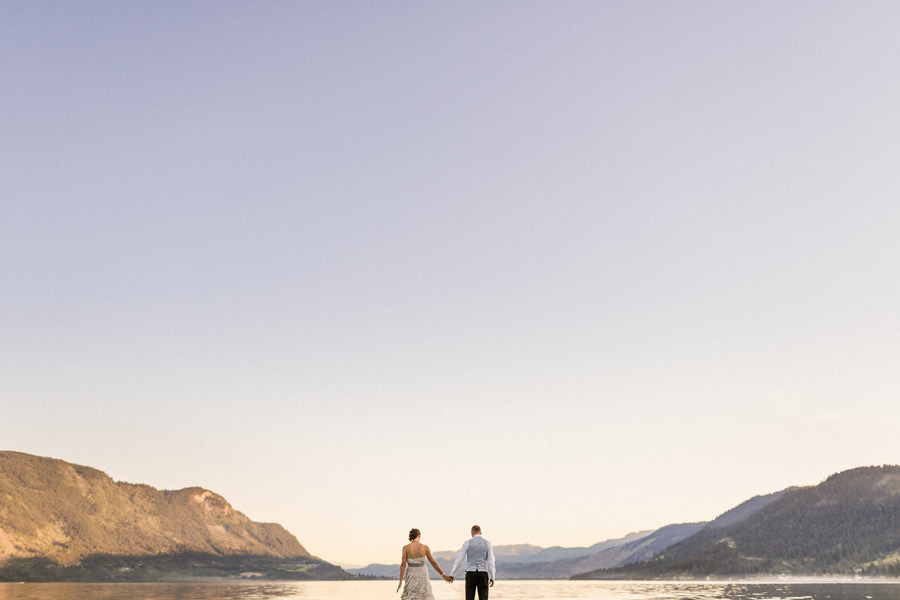 Shuswap Lake Wedding, BC